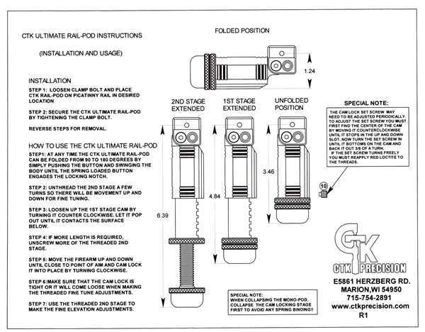 CTK Precision Instructions