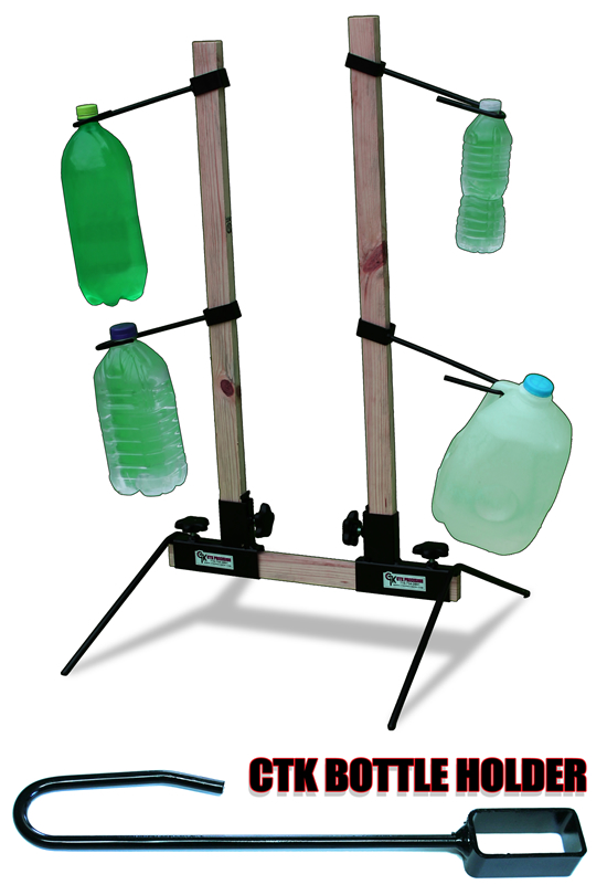 Target Stand with Bottle Holders